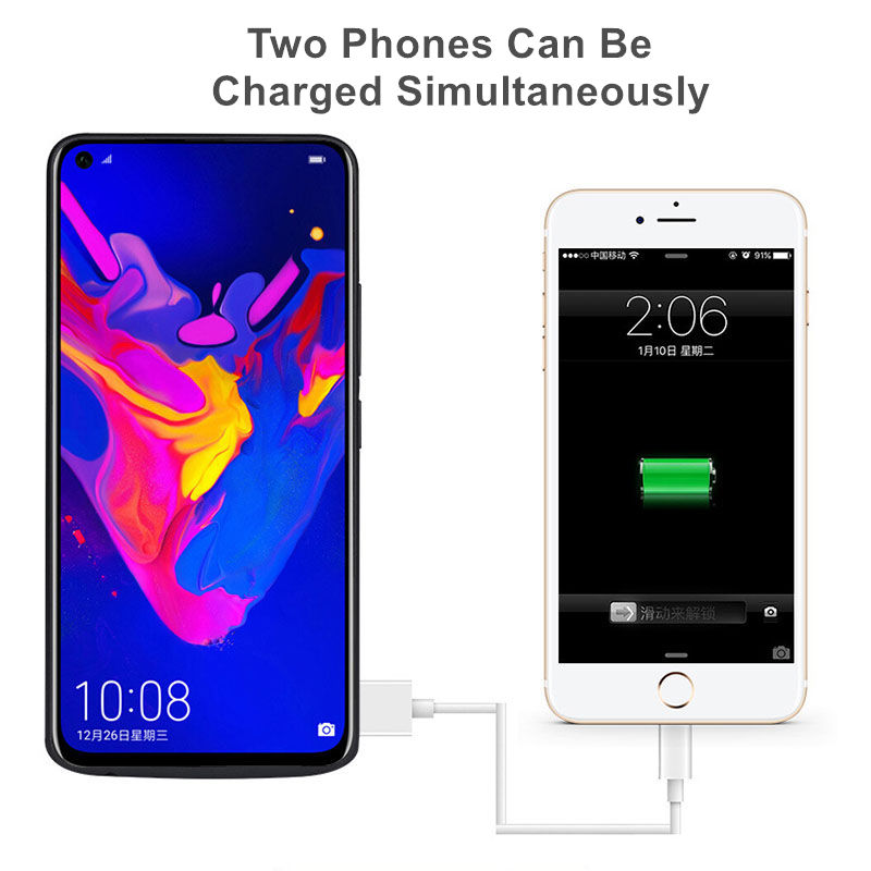 promo code 2412b 5f594 For Huawei honor V20 Battery Case 6500 Mah External Backup Charger Cover  Pack Power Bank For Huawei Honor V20 Battery Case