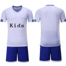 Niño niños Camisetas de Soccer Sets survetement Football kits  personalizados niños futbol uniformes de entrenamiento maillot d7a85f7677ba6
