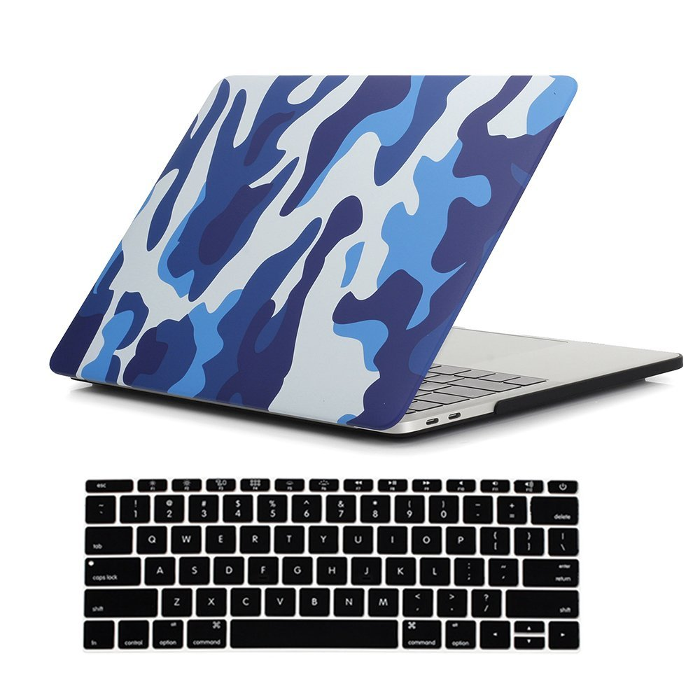 "Image 2 - Camouflage Pattern Matte Hard Case for Macbook Pro 13 15 with touch bar 2016 2017 2018 Laptop Case For New Mac book Pro 13.3""-in Laptop Bags & Cases from Computer & Office"