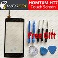 HOMTOM HT7 tela sensível ao toque + Conjunto de Ferramentas Presente de Alta Qualidade painel de Digitador de vidro Substituição Conjunto Da tela para telefone celular