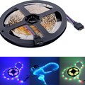 RGB Colorful Bedroom Romantic Led Strip for Valentines` Day Birthday Atmosphere Non-waterproof 5m/Roll 60LEDs/m Brilliant