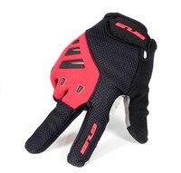 GUB Full Finger Touch Screen Cycling Bike Glove Anti slip Cushion Gloves Men Women Comfortable Cycling Rock Climbing Gloves