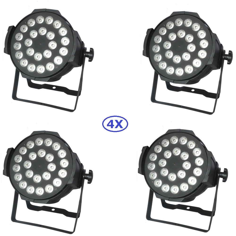 Free Shipping 4Pack 24X10W RGBW 4IN1 NON-Waterproof Led Par Light With 3/7 Channels For Party Wedding Dj Shows Indoor Use global elementary coursebook with eworkbook pack