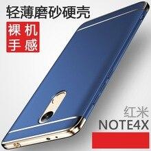 Роскошный Гибридный case Для Xiaomi Redmi Note 4X Жесткий 3 в 1 матовое Покрытие Защитная задняя крышка для xiaomi redmi note4x 4x shell