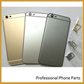 New For Iphone 6  Back Cover Rear Housing Door Case With Side Button Key + SIM Card Tray Slot Holder Replacement 4.7 inch
