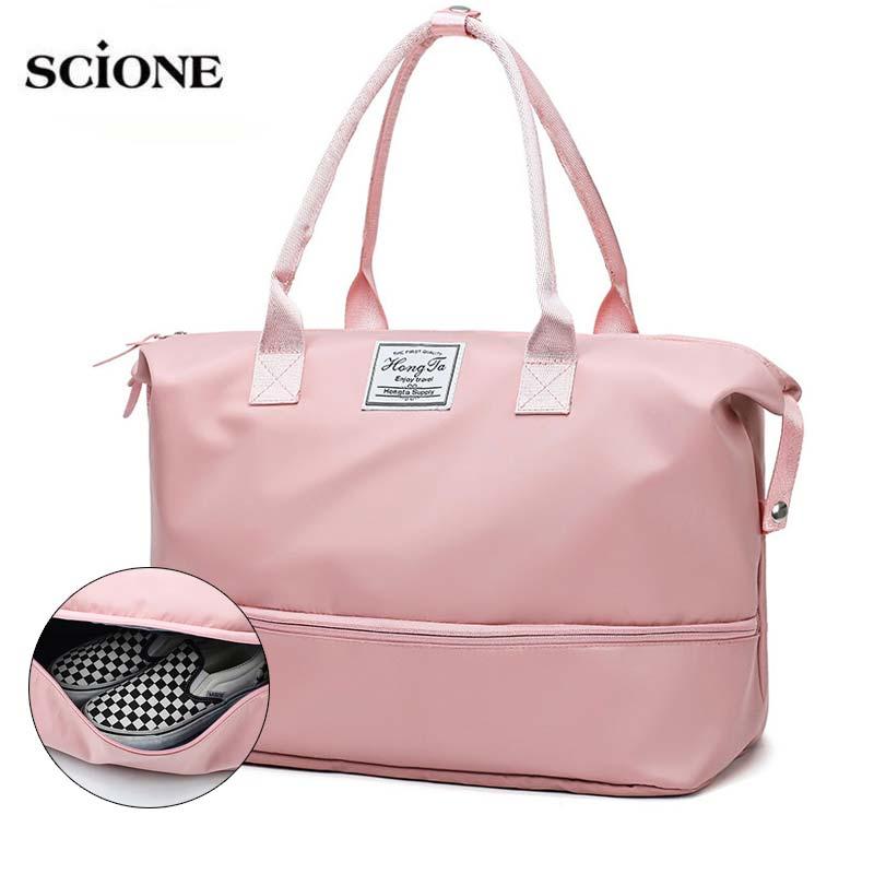 Sports Gym Bags Men Women Girls Training Fitness Travel Handbag For Shoes Yoga Mat Sack Shoulder Bag Bolso Tas Sac Sport XA743WA