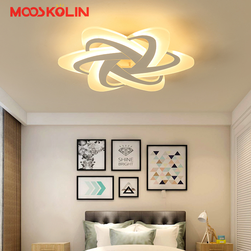 2017 Surface Mounted Modern Led Ceiling Lights For Bedroom Dining Room Light Fixture Indoor Lighting Home Decorative Lampshade fashion modern lamps led ceiling lights indoor lighting gold electropla living dining room bedroom bar shop light fixture