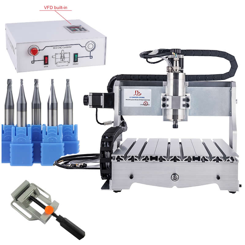 CNC 3040 Engraving milling machine 3 AXIS desktop wood carving router for Aluminum, copper and stoneCNC 3040 Engraving milling machine 3 AXIS desktop wood carving router for Aluminum, copper and stone
