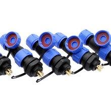 SP1310 SP1312 防水コネクタ SP13 2pin 3pin 4pin 5pin 6pin 7pin 9pin IP68 プラグとソケット