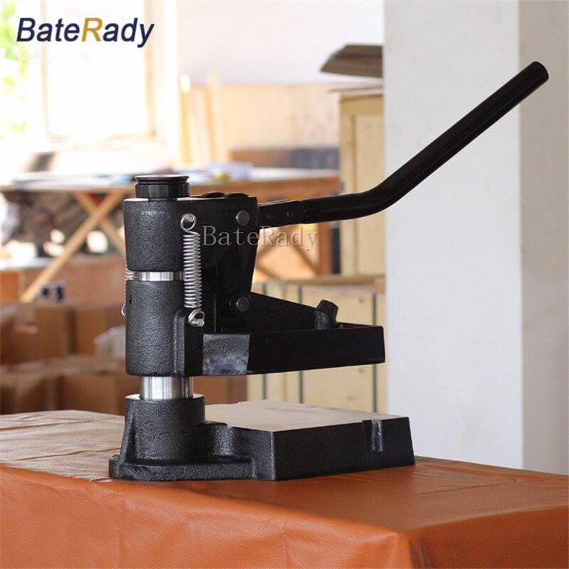 8360 BateRady Main pression d'échantillonnage machine, Laser couteau moule en cuir estampage machine, manuel en cuir moule/Die de coupe machine