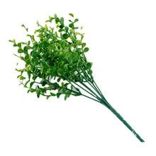 Artificial Flower Grass Eucalyptus Plastic Fake Plants Green Plant Graduation 2019 Wedding Decors Home Decoration