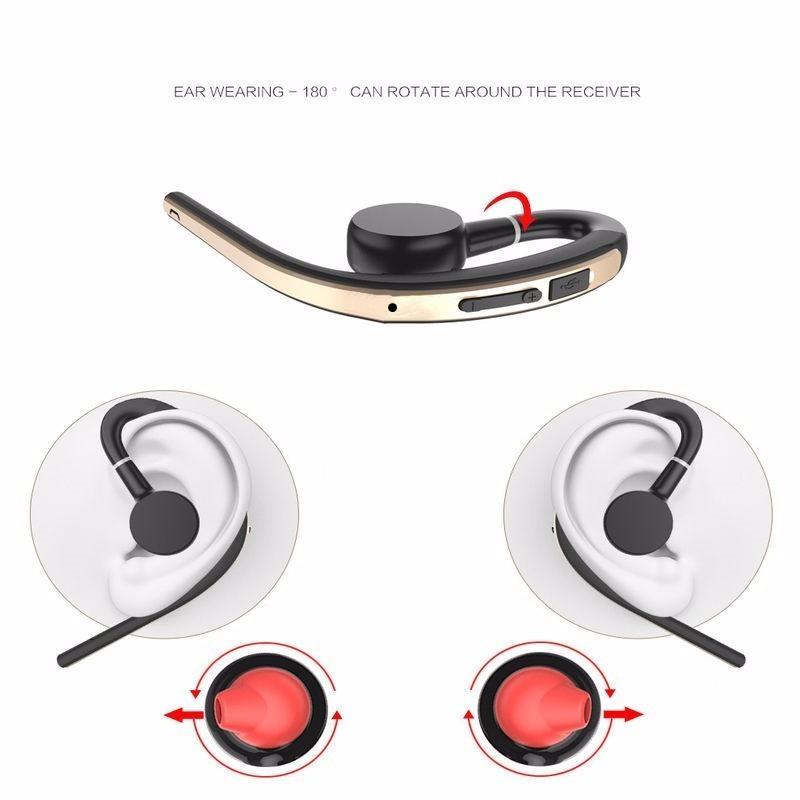 Voice control Bluetooth headset Noise cancelling isolation wireless earphone with microphone handsfree sports music headphone (1)