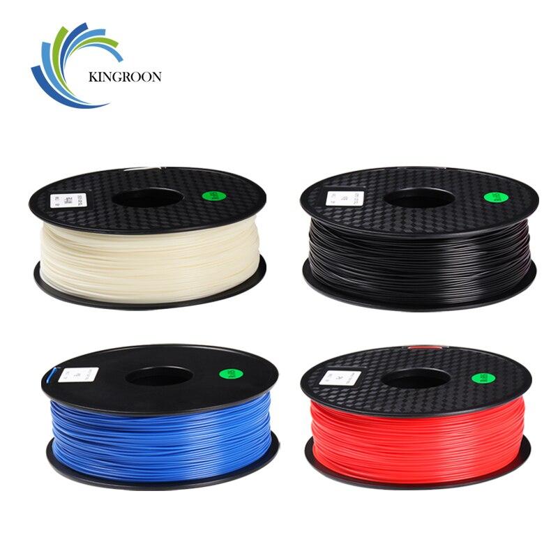 KINGROON 1.75mm 1 KG Filament ABS pour imprimante 3D plastique caoutchouc consommables matériel fournitures pour imprimante 3D stylo bobines Filamento