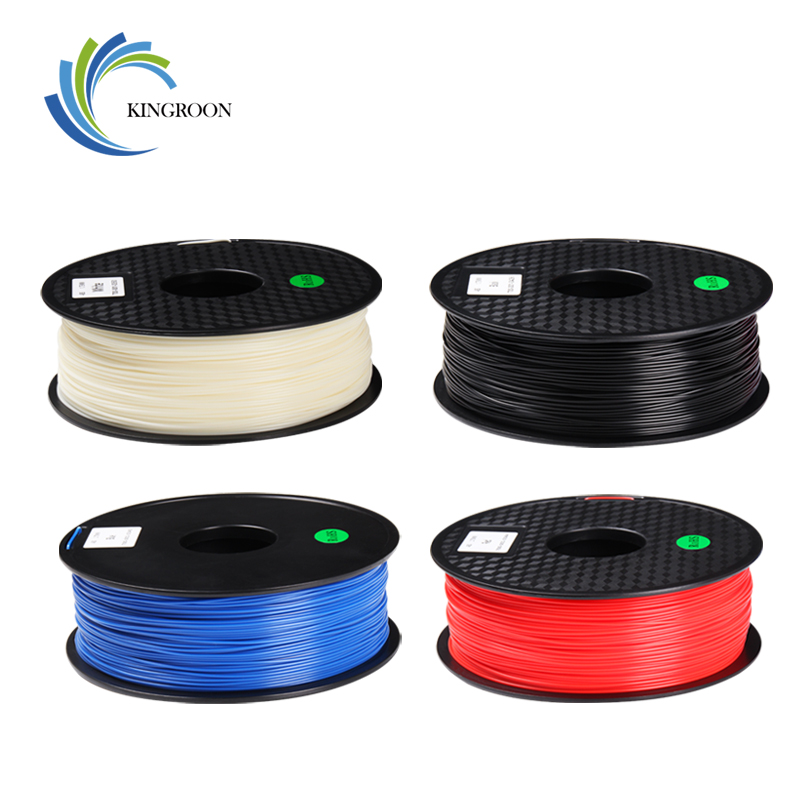 Kingroon 1.75mm 1 kg abs filamento para impressora 3d materiais de borracha de plástico materiais materiais materiais para carretéis de caneta de impressora 3d filamentos