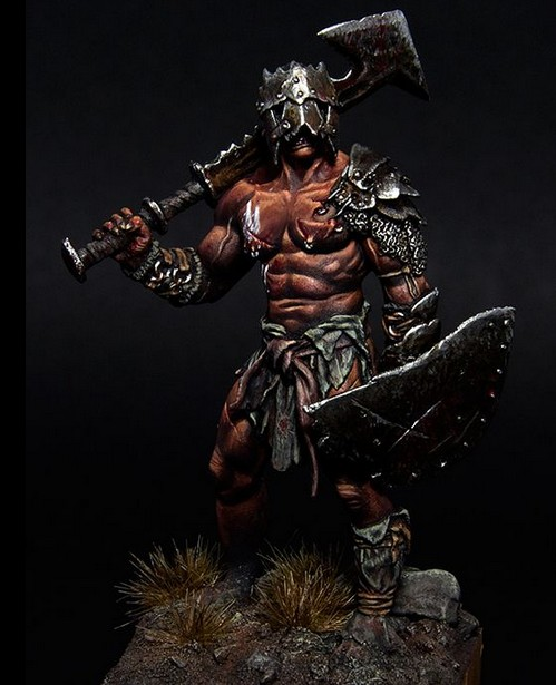 1/32 Scale Orcs (Can Do 2 Action) Resin Model Kit Model Free Shipping