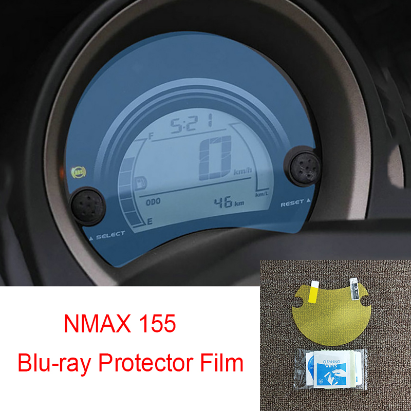 Cluster Scratch Protection Film Blu-ray Protector For <font><b>Yamaha</b></font> <font><b>NMAX</b></font> 155 N MAX 155 image