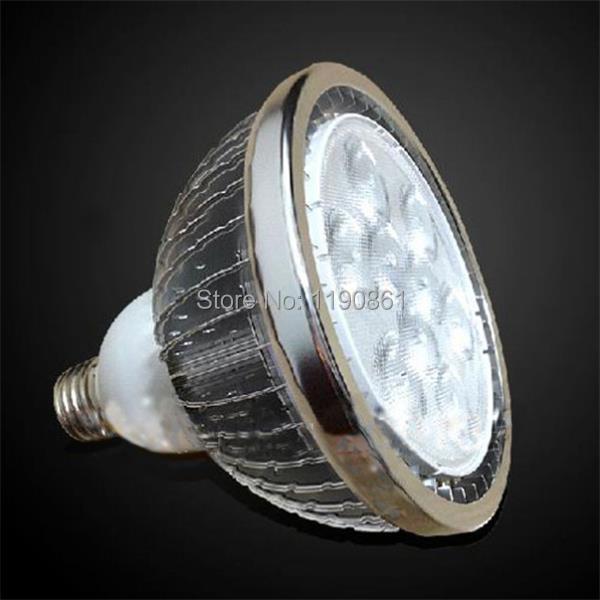 9X2W LED spotlight lamp E27 Dimmable par30 led light bulb downlight white warm white110-220v Free shipping