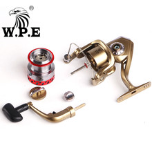 W.P.E DFB Series 6 Ball Bearings 5.1:1 High Speed Fishing Reel with 8KG Max Drag Power 2000/3000/4000/5000/6000 Spinning