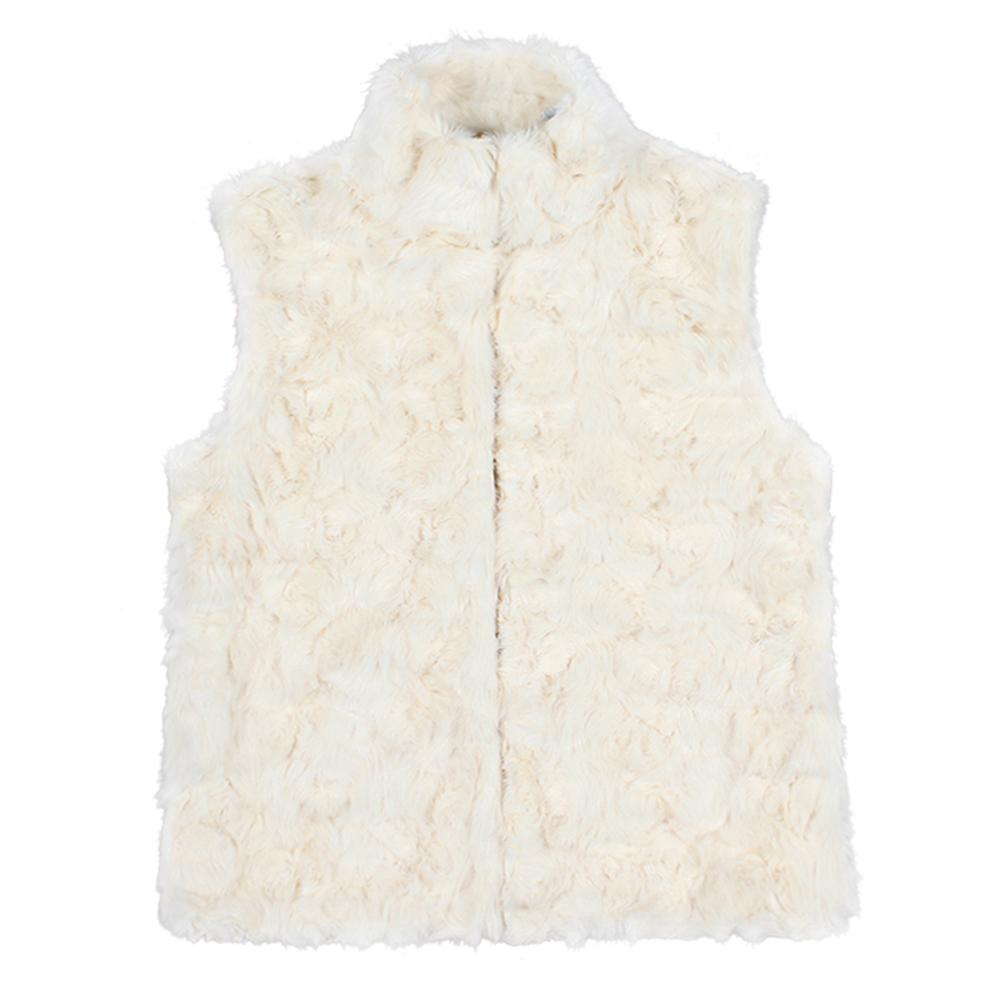 High Quality Fur Vest Coat Luxury Faux Fur Coat Warm Women Coat Vests Winter Fashion Furs Women's Coats Jacket Gilet Veste M-3XL