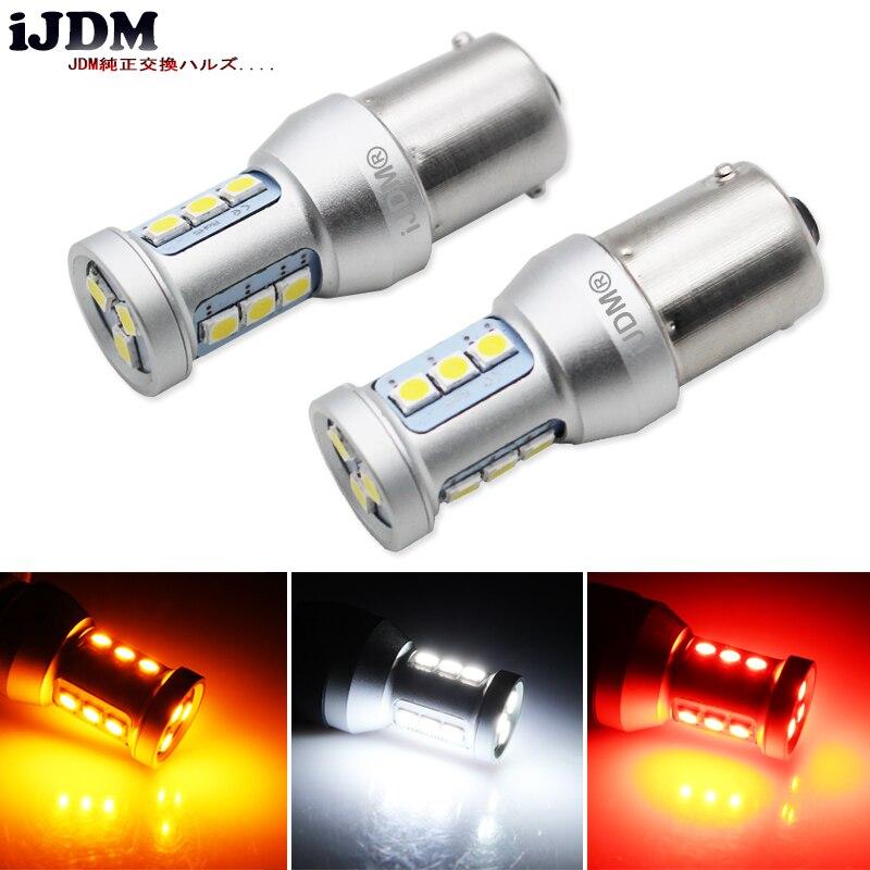 IJDM Auto Rücklicht 1156 LED Canbus BA15S/P21W BAU15S/PY21W S25 3030 12SMD 12 V Auto Bremse Umge Lampe DRL Einparkhilfe Hinten lampen