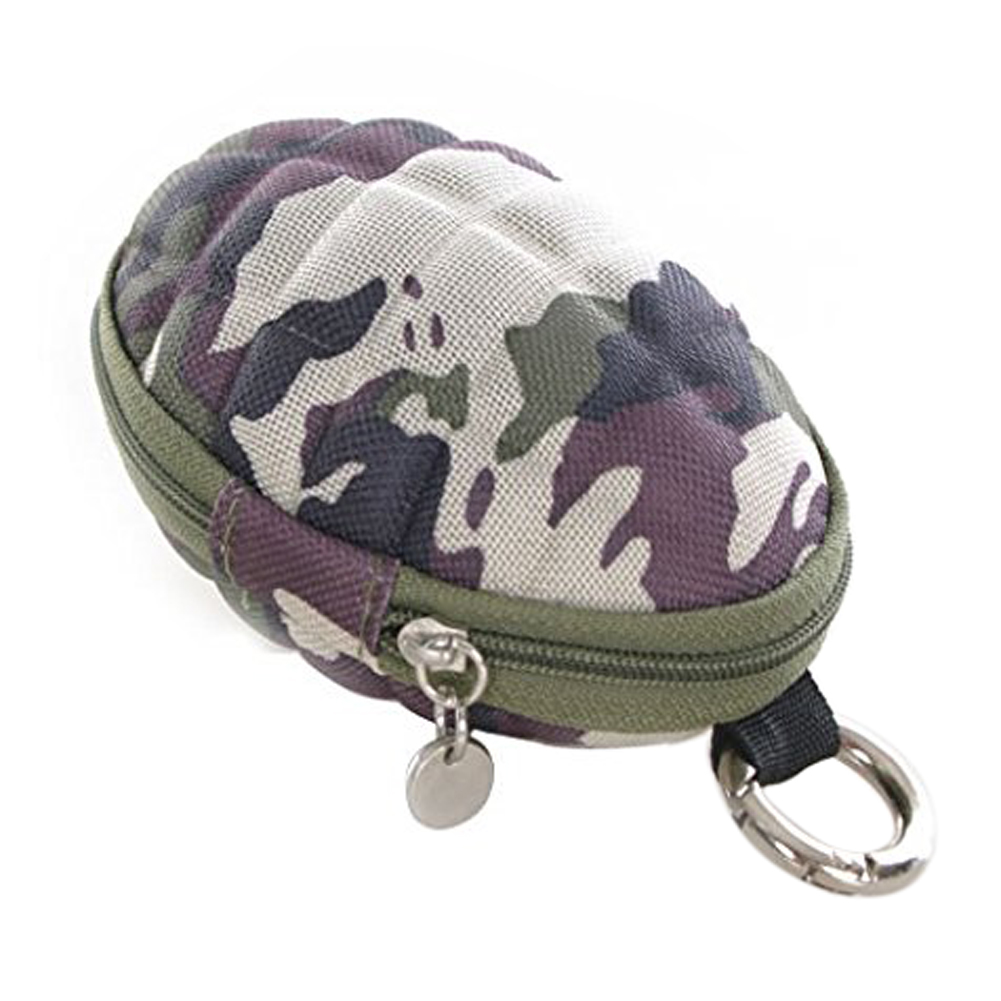 Camouflage Key & Coin Case Duck gren/ade / coin case / key case / Pass Case carabiner type sanrenmu sk009d lucky number 9 carabiner with key ring