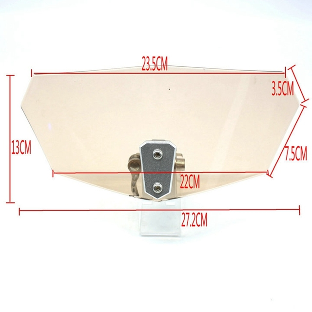 Pare-brise réglable pour moto Suzuki v-strom 650 XT DL 650 DL650 DL1000 GSXR150 GSXR125, panneau de Spoiler Variable