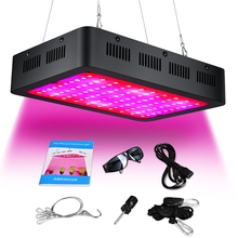 1000w Growing Lamp Full Spectrum with Double Chips 10W Bulbs for Greenhouse Hydroponic Indoor Plants