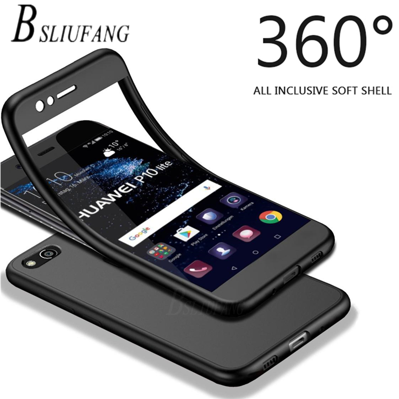 <font><b>360</b></font> Full Cover TPU Soft <font><b>Case</b></font> For <font><b>Huawei</b></font> P10 P9 P8 Lite 2017 <font><b>Y5</b></font> Y6 Y7 prime <font><b>2018</b></font> Y9 2019 Honor 10 9 Lite Nova 3 3E 3i Cover <font><b>case</b></font> image
