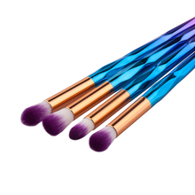 10pcs Professional Makeup Brush Rainbow Set