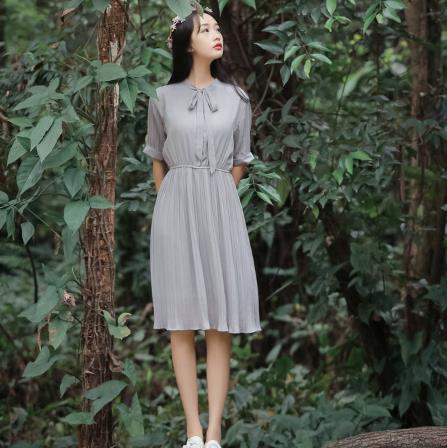 ea31e187bf Clobee 2017 Autumn Mori Girl Women Dress Korean Style Lolita Long A Line Ladies  Dresses School Work Femme Vestidos Z518-in Dresses from Women s Clothing on  ...