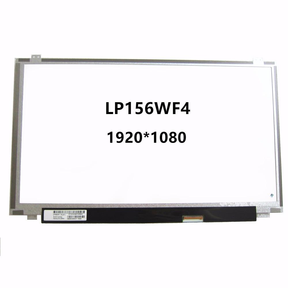 New 15.6 Laptop IPS LCD LED Screen Display Matrix 1920X1080 40 Pins LP156WF4 SLC1 SLB3 SLB7 SLB6 LP156WF4 SLB5 LP156WF4 SLB2 new laptop 15 6 wxga slim led lcd screen display fits n156bge l31 b156xtn03 4 lp156wh3 tl bc