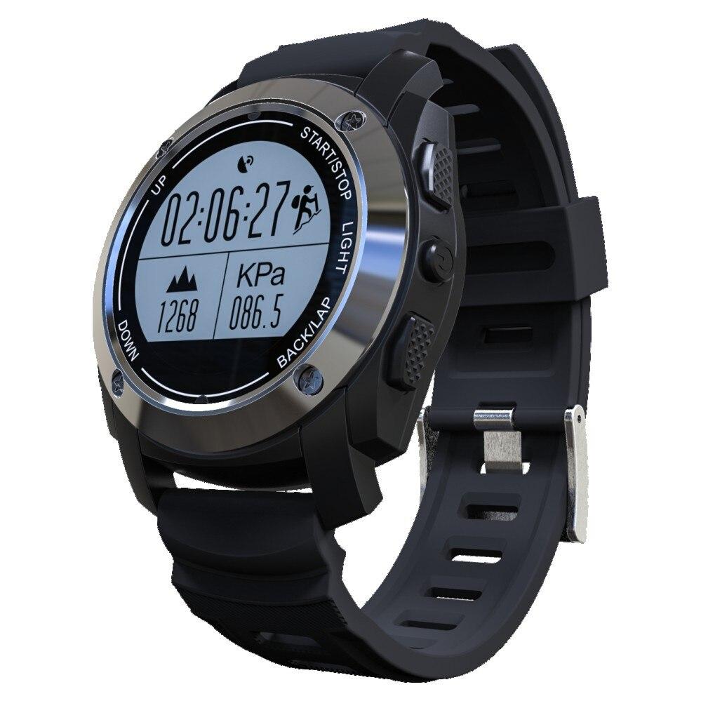 Smartch GPS Sport montre intelligente S928 Bluetooth montre moniteur de fréquence cardiaque podomètre traqueur de vitesse pression température étanche