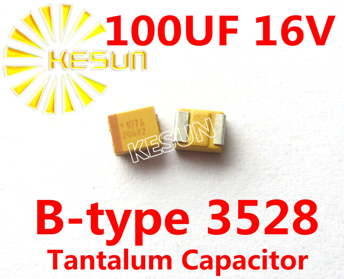 Buy 100uf 16v B Type 1210 3528 107c Smd Tantalum Multiple Anode Capacitor Connector Tajb107k016rnj X500pcs From Reliable Suppliers
