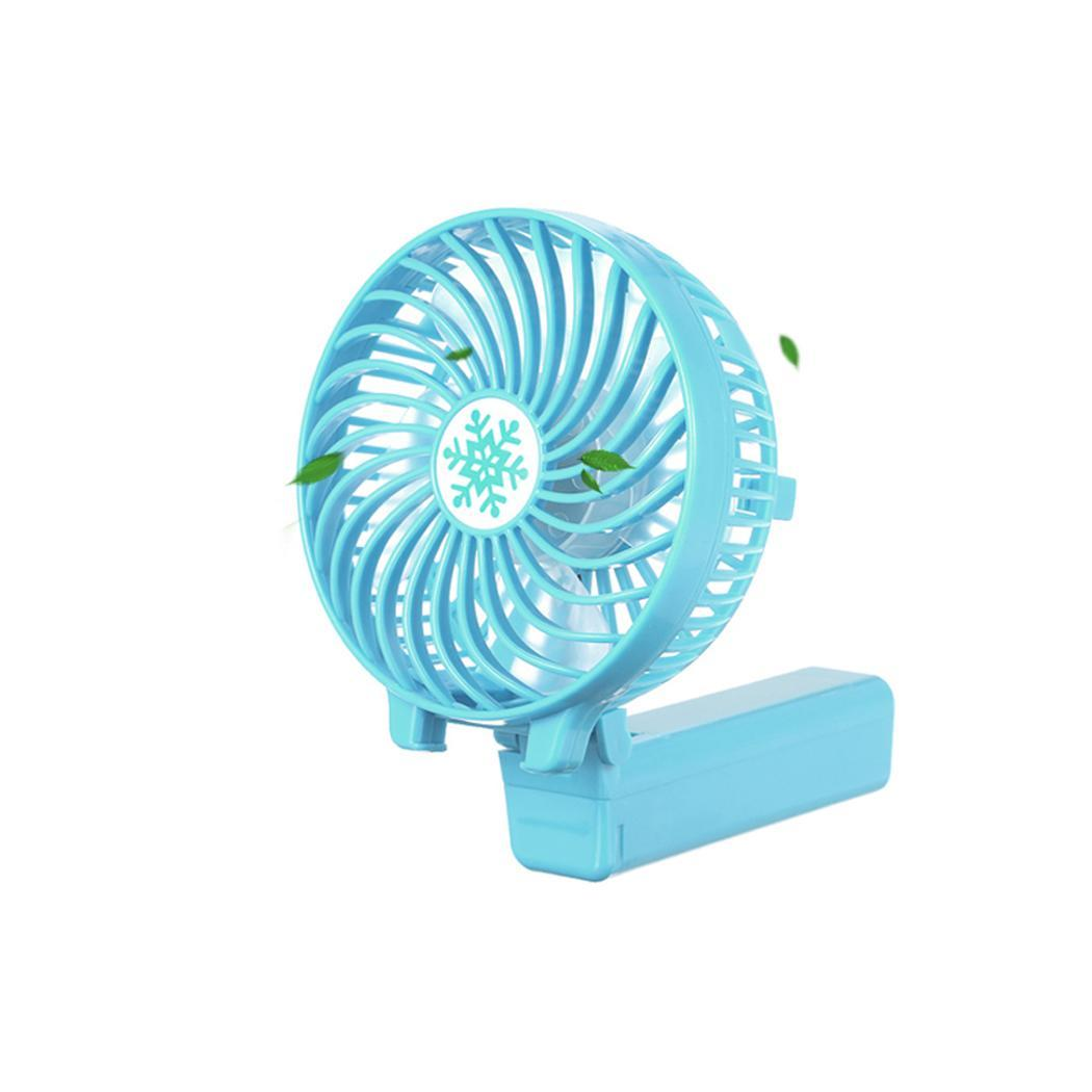 Mini Portable USB Fan Ventilation Foldable Air Conditioning Fans Hand Held Cooling Fan For Office Home USB Battery Fan