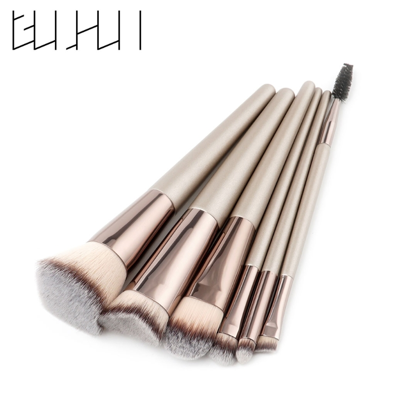 6pcs Pro Makeup Brushes Set Powder Foundation Eyeshadow Eyeliner Lip Brush Tool make up brushes 10pcs makeup brush kit powder foundation eyeshadow eyeliner lip make up brushes set beauty tools