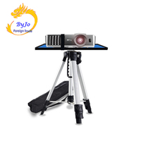 Adjustable Portable Projector tripod 120cm Mount Stand tray