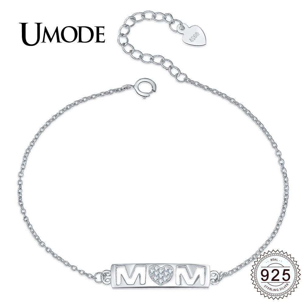 Pandora Bracelet UMODE New Fashion Sterling Silver Bar