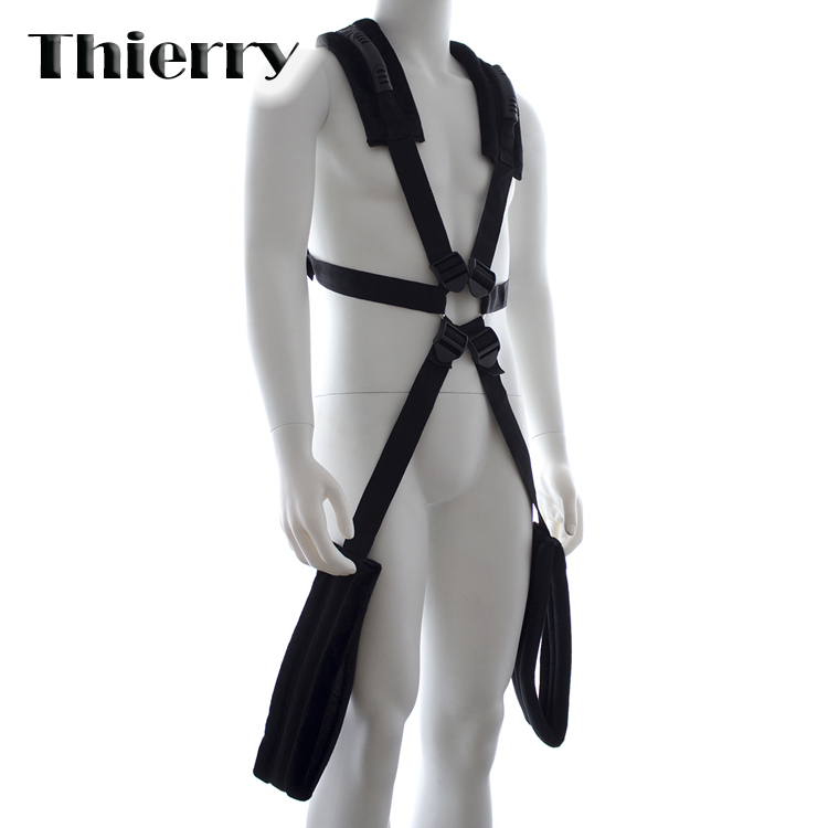 стойка для качелей fantasy swing stand Thierry Romantic Fantasy Swing Sling Spreader Kit with Fleece Crazy Sexual Experience Sm sex Toys for couples or adult games