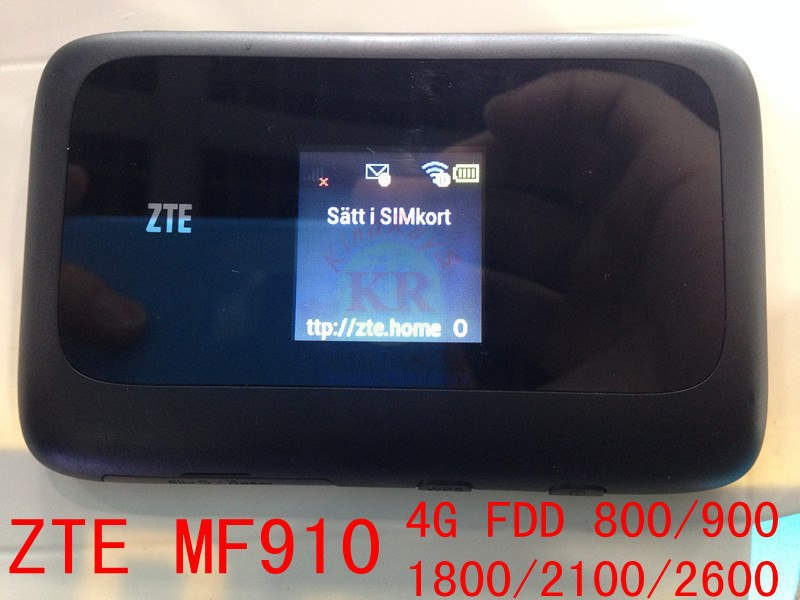 unlocked ZTE MF910 LTE 4g Mobile Hotspot wifi mifi router zte 4g lte dongle CAT4 150Mbps wifi modem pk mf90 r212 mf91 mf80 mf190