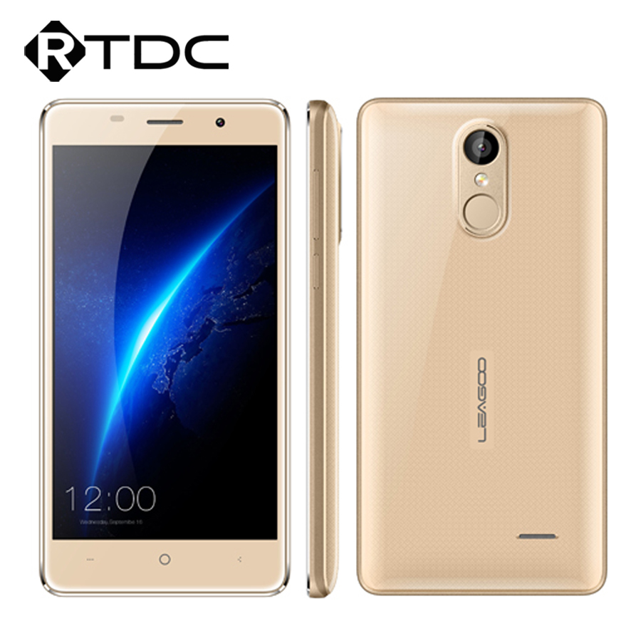 Leagoo MT6580A M5 3G 1280x720 Android 6.0 2 GB RAM 16 GB ROM 8.0 MP Fingerprint