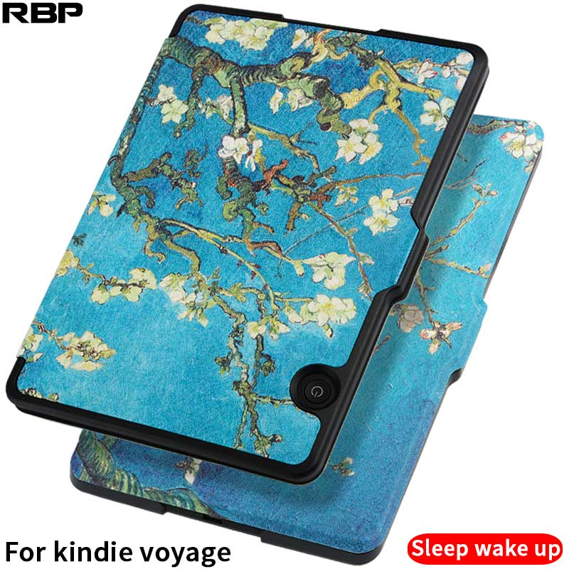 RBP for Amazon Kindle voyage case KV shell model is 1499 thin all-inclusive leather cover for kindie 6-inch sleep protection simple wool felt sleeve case cover for amazon kindle paperwhite2 kindle 499 for amazon kindle voyage 6inch tablet bag s4b05d