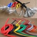 2AWG мягкий гибкий силиконовый гелевый провод кабель высокая термостойкость теплостойкий ультра электрический шнур Луженая Медь ul vw-1