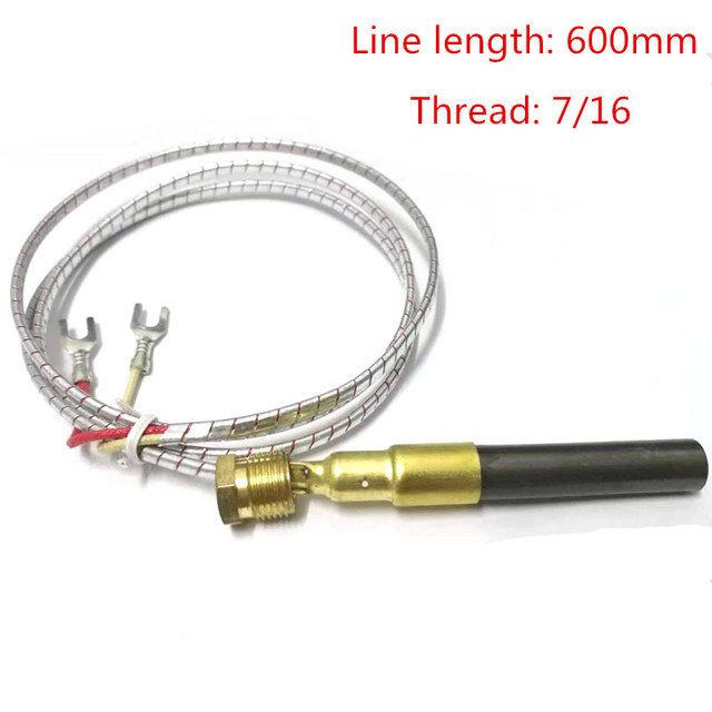Cool Us 44 44 5Pcs Thermocouple 750 Degree Millivolt Replacement Thermopile Generator For Gas Fireplace Water Heater Gas Fryer Color Random In Gas Water Download Free Architecture Designs Rallybritishbridgeorg