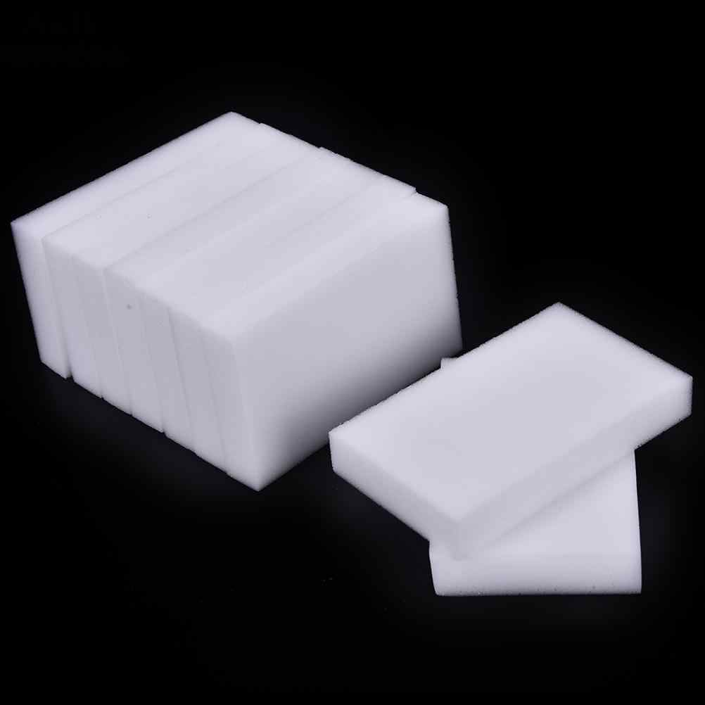 100Pcs Magic Sponges White Cleaner Melamine Sponge for Dish Washing Multi-functional Cleaning Nano Kitchen Bathroom Tools18