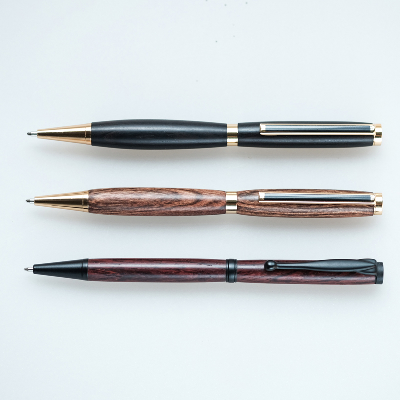 10 pieces for a lot Solid Wood Ballpoint Pens 10 pieces lot x02014 007a b03