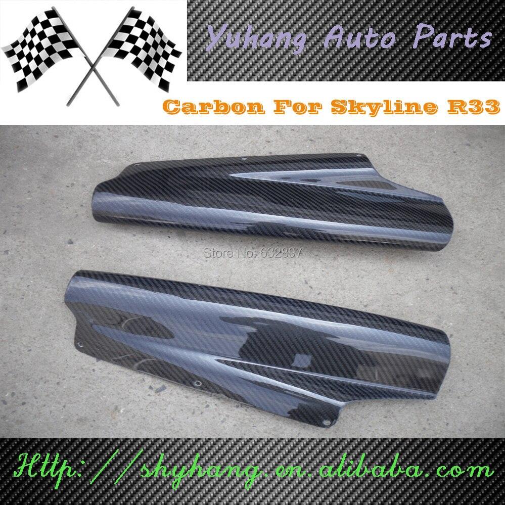 1995 1998 Skyline R32 R33 GTR Top Secret Style Carbon