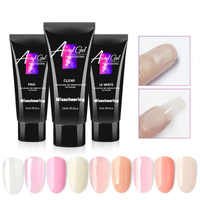 15g Nail Builder Extend polygel Polish Varnish For Nail Extension UV Gel LED Sculpting Hard 9 Colors Poly Gel Lacquer Manicure