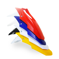 Free shipping Front Fender Mudguard Dirt Bike Motocross Motorcycle For KTM BEXC SX XC