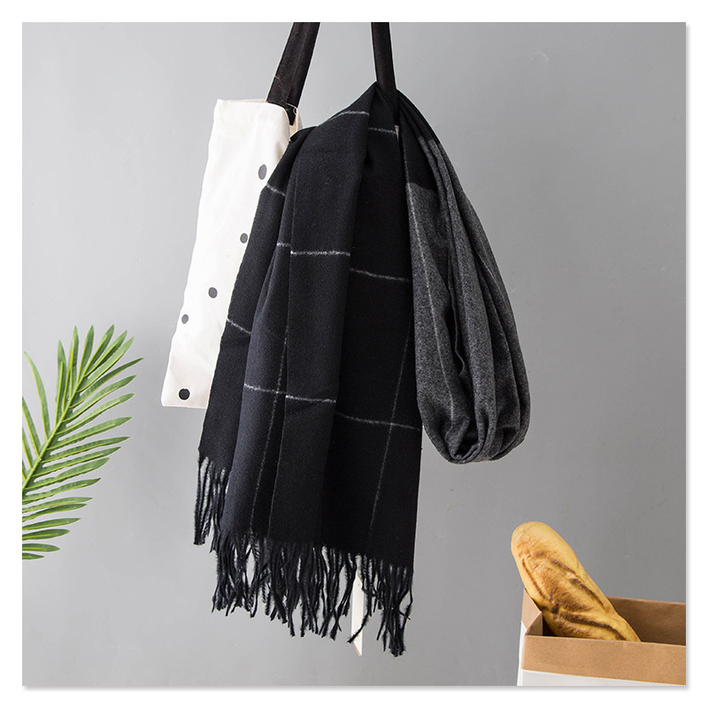 Winter Warm Scarf Plaid Colorful Wrap Pashmina Colorful Stylish Cashmere Soft Stole New [3321]