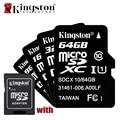 Kingston classe 10 cartão micro sd 8 gb 16 gb 32 gb 64 gb cartão de memória c10 mini Cartão SD C10 8 GB 16 GB 32 GB 64 GB SDHC Microsd TF cartão